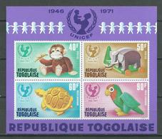Togo Bloc-feuillet YT N°57 UNICEF Neuf ** - Togo (1960-...)