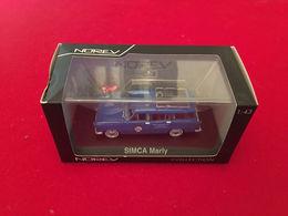 Simca Marly EDF / GDF 1/43 Norev  Série Spéciale Rétro Automobile Club Des Électriciens Et Gazier De France - Norev