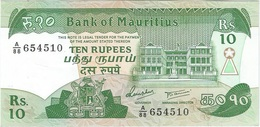 Mauricio - Mauritius 10 Rupees 1987 Pick 35 UNC - Mauritius