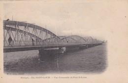 SENEGAL. SAINT LOUIS. VUE D'ENSAMBLE DU PONT ST LOUIS. PHOTO MD. NON CIRCULEE CIRCA 1900's- BLEUP - Senegal