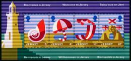 JERSEY Block 1 Postfrisch X6C1972 - Jersey