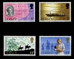 JERSEY Nr 153-156 Postfrisch X6C18BE - Jersey