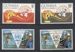 Guyana 1970 UN 25th Anniv. MUH - Guyane (1966-...)