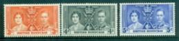 British Honduras 1937 Coronation MLH - Ecuador