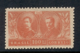 Brazil 1920 Visit Of The King & Queen Of Belgium MLH - Brazil
