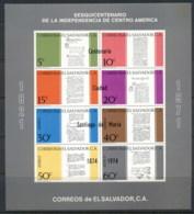 El Salvador 1974 Santiago De Maria Opts MS MUH - El Salvador
