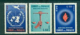 Paraguay 1960 Human Rights  MUH Lot35937 - Paraguay