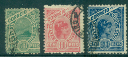 Brazil 1900 Liberty, Sugarloaf Mt (3) FU Lot36121 - Brazil