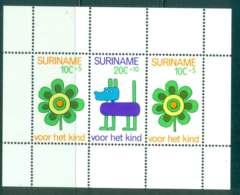 Surinam 1973 Child Welfare MS MUH Lot47248 - Surinam
