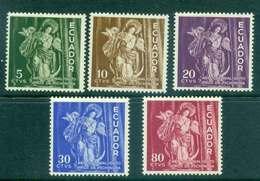 Ecuador 1959 Virgin Of Quito MLH Lot46720 - Ecuador