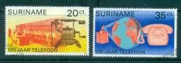 Surinam 1976 Telephone Centenary FU Lot47204 - Surinam