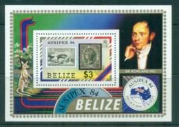 Belize 1984 AUSIPEX '84 MS MUH - Belize (1973-...)