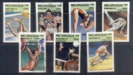 Nicaragua 1989 Summer Olympics, Barcelon '92 CTO - Nicaragua