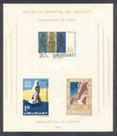 Uruguay 1964 UNESCO Campaign To Save Historic Monuments In Nubia MS MUH - Uruguay