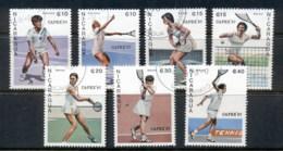 Nicaragua 1987 CAPEX Tennis CTO - Nicaragua