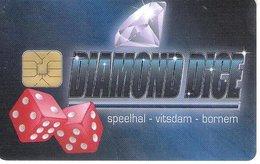 BELGIO  KEY CASINO  Diamond Dice - Speelhal - Cartes De Casino