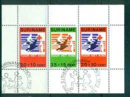 Surinam 1979 Child Welfare MS FU Lot47224 - Surinam