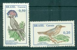 Brazil 1968 Birds (2/3) MUH Lot35403 - Brazil