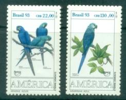 Brazil 1993 Endangered Species MUH - Brazil