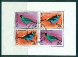 Surinam 1977 Birds MS FU Lot47225 - Surinam