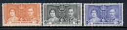 British Honduras 1937 Coronation MUH - Ecuador