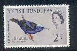 British Honduras 1962 Birds 2c MUH - Ecuador
