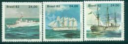 Brazil 1982 Naval Academy Training Ships MUH Lot35762 - Brazil