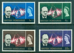 British Honduras 1966 Churchill MLH - Ecuador