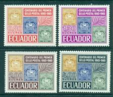 Ecuador 1965 Stamp Centenary MUH Lot3553 - Ecuador
