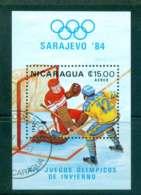 Nicaragua 1983 Winter Olympics MS CTO Lot43175 - Nicaragua