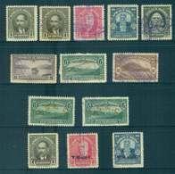 Honduras 1930-31 Asst. Inc. Opts.(faults) MH/FU Lot51263 - Honduras