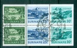 Surinam 1978 Industry 2x20c,2x25c,2x30c Booklet Pane FU Lot47229 - Surinam