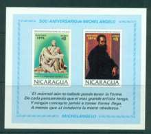Nicaragua 1974 Xmas MS MUH Lot43185 - Nicaragua