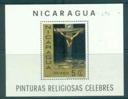 Nicaragua 1968 Religious Paintings MS MUH Lot43226 - Nicaragua