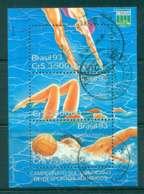 Brazil 1990 Water Sports Champioship MS FU Lot47061 - Brazil