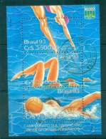 Brazil 1990 Water Sports Champioship MS FU Lot47062 - Brazil