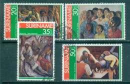 Surinam 1976 Paintings By Surinam Artists FU Lot47205 - Surinam