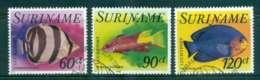 Surinam 1977 Fish 3 Airmail FU Lot47209 - Surinam
