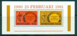 Surinam 1981 Economic Order MS MUH Lot47238 - Surinam