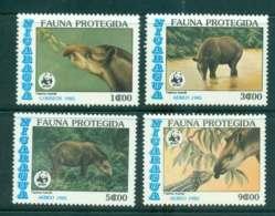 Nicaragua 1985 Protected Wildlife MLH Lot43181 - Nicaragua