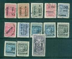 Ecuador 1950-53 Assorted Opt, Surch FU Lot46686 - Equateur