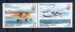 Uruguay 1999 Sea Planes Pr MUH - Uruguay