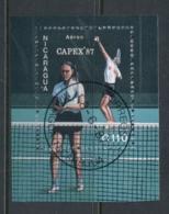 Nicaragua 1987 CAPEX Tennis MS CTO - Nicaragua