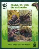 Peru 2004 WWF Giant Otter MS MUH Lot76265 - Peru