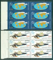 Venezuela 1974 Centenary Of UPU Blk64 MUH Lot76355 - Venezuela