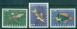 Venezuela 1966 Fish Air Mail MLH Lot46904 - Venezuela