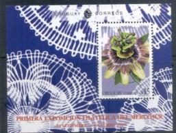 Uruguay 1997 Flower, Mercosur Stamp Ex. MS MUH - Uruguay