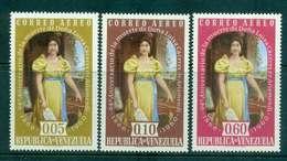 Venezuela 1960 Air Mail Luisa Caceres De Arismendi MLH Lot46854 - Venezuela