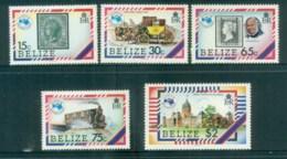 Belize 1984 AUSIPEX MLH Lot80871 - Belize (1973-...)