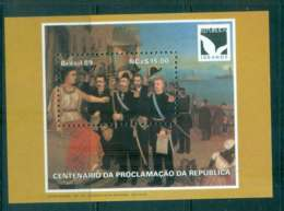 Brazil 1989 Proclamation Of The Republic MS MUH Lot47068 - Unclassified